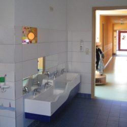 Detail Krippenwaschraum