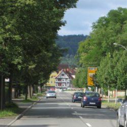 Ansicht von Gotha kommend
